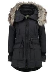 KhujoRETRO BUGS Abrigo de invierno charcoal melange
