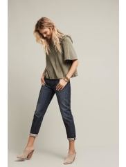 Levi's501 CT High-Rise Straight Jeans