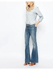 Levi'sHigh Rise Flare Jeans - Medium indigo