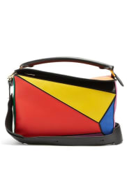 LoewePuzzle leather shoulder bag