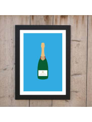 Loveday DesignsWorship Champagne Personalised Print