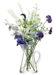 LSAFlower Pot Vase H26Cm Clear