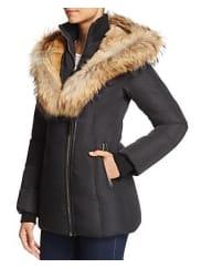 MackageAkiva Fur-Trim Short Down Jacket