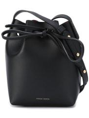 Mansur GavrielMini Mini Bucket Bag With Inside Contrasting Color