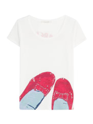 Marc JacobsPrint-Shirt Ruby Red Shoes aus Baumwolle