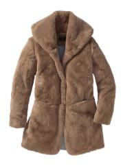 MilestoneFake-Fur Mantel