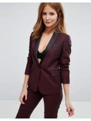 Millie MackintoshSuit Blazer - Burgundy