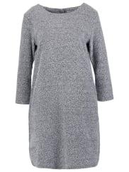 MinimumVALGERD Strickkleid dark grey