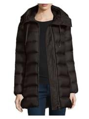 MonclerSuyen Lightweight Quilted Puffer Coat, Black