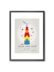 Monde MosaicMy Super Soda Pops Wonder Woman Print - 20x28