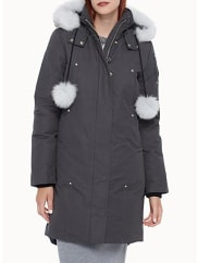 Moose KnucklesFox pompom hooded parka