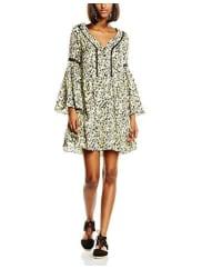 MorganRflor.N-vestido Mujer Vert (Anis/Gris) 42