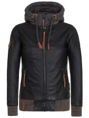NaketanoNaketano Kleines Äffchen II - Jacke für Damen - Schwarz