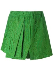 N°21front pleat lace skirt, Womens, Size: 46, Green