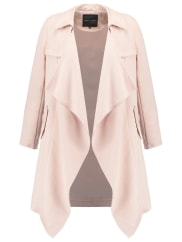 New LookTrench shell pink