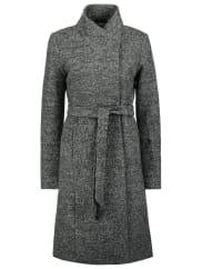 OnlyONLHOUSTON Wollmantel / klassischer Mantel dark grey melange