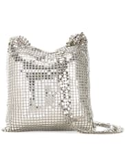 Paco Rabannesmall chainmail bag, Womens, Grey