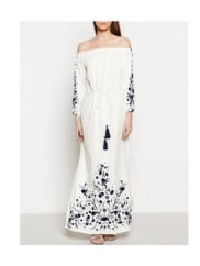 Pampelone ClothingVoiles Maxi Dress - White, Size L