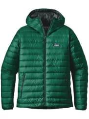 PatagoniaDown Hooded Outdoorjacke legend green / grün