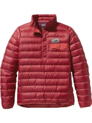 PatagoniaWs Down Snap-T Pullover Oxblood Red M Dunjakker