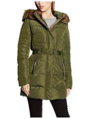 Pepe Jeans LondonBetsy, Abrigo Mujer, Verde (Army), 40 (Talla del fabricante: Medium)