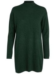 PiecesStrickpullover Woll- grün