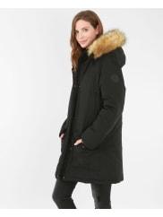 PimkieLanger Parka Schwarz, Größe M -Pimkie- Mode für Damen