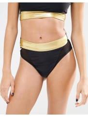QuontumSlip bikini sgambato - Multicolore