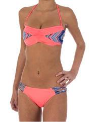 Rip CurlTribal Quest Bandeau - Bikini Set für Damen - Pink