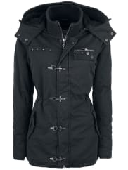 Rock Rebel by EMPCarabiner Jacket Girl-Jacke schwarz