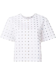 Rosie Assoulincrystal embellishments T-shirt, Womens, Size: Small, White