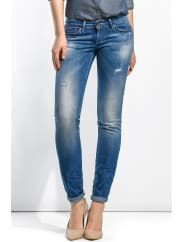 Salsa JeansJeans Shape Up jambe slim avec petites déchirures