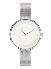 SkagenKlassik - Schmale Armbanduhr in Silber - Silber