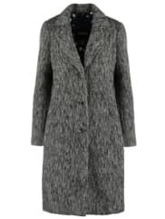 SpoomNIKKI Wollmantel / klassischer Mantel antracite