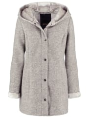 SpoomPETAL Abrigo de paño/clásico grey melange