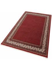 Theko Die MarkenteppicheOrient-Teppich, Theko exklusiv, »Chandi Mir«, handgeknüpft, 140.000 Knoten/m², reine Schurwolle, rot, rot