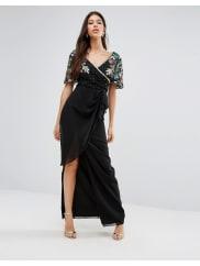 Virgos LoungeAriann Maxi Dress - Black