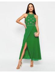 Virgos LoungeTallulah Maxi Dress - Green