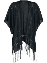 Authentic StyleSublevel - Kimono Poncho noir
