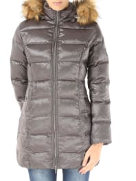 BomboogieWomens Coat On Sale, Fog Grey, polyester, 2016, 0 -- Eu 36/38 2a -- Eu 40/42