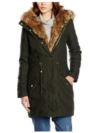 Cache CacheParka - Manches Longues - Femme - Vert (Deep Forest) - FR : 36 (Taille fabricant : 1)