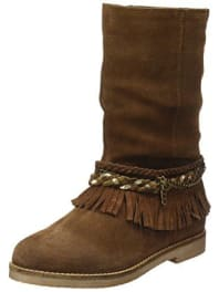 CoolwayBIARA - Botas para mujer, color cuero