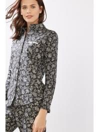 EspritPyjama en flanelle 100 % coton Dark Grey pour Femmes