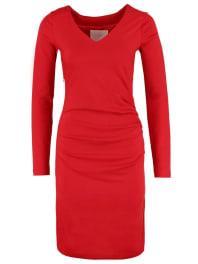 KaffeINDIA Vestito di maglina haute red