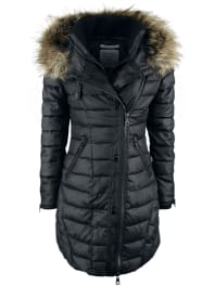 KhujoAlbia Girl-Mantel schwarz