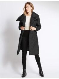Marks and Spencer IrelandPadded & Quilted Duvet Coat black