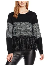 Molly BrackenM2364H16, Suéter para Mujer, Noir (Black), Talla Única