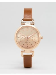 New LookRose Gold Link Detail Watch - Rose gold