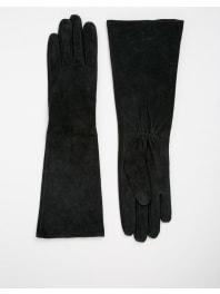 New LookLong Suede Glove - Black
