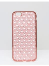 New LookQuilted iPhone 6/6S Case - Pink